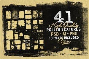 41 Roller Paint Textures