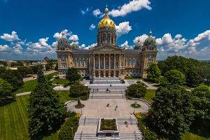 Des Moines, Iowa Capital Building
