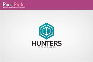 Hunters Logo Template