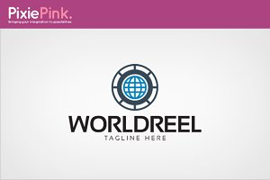 World Reel Logo Template