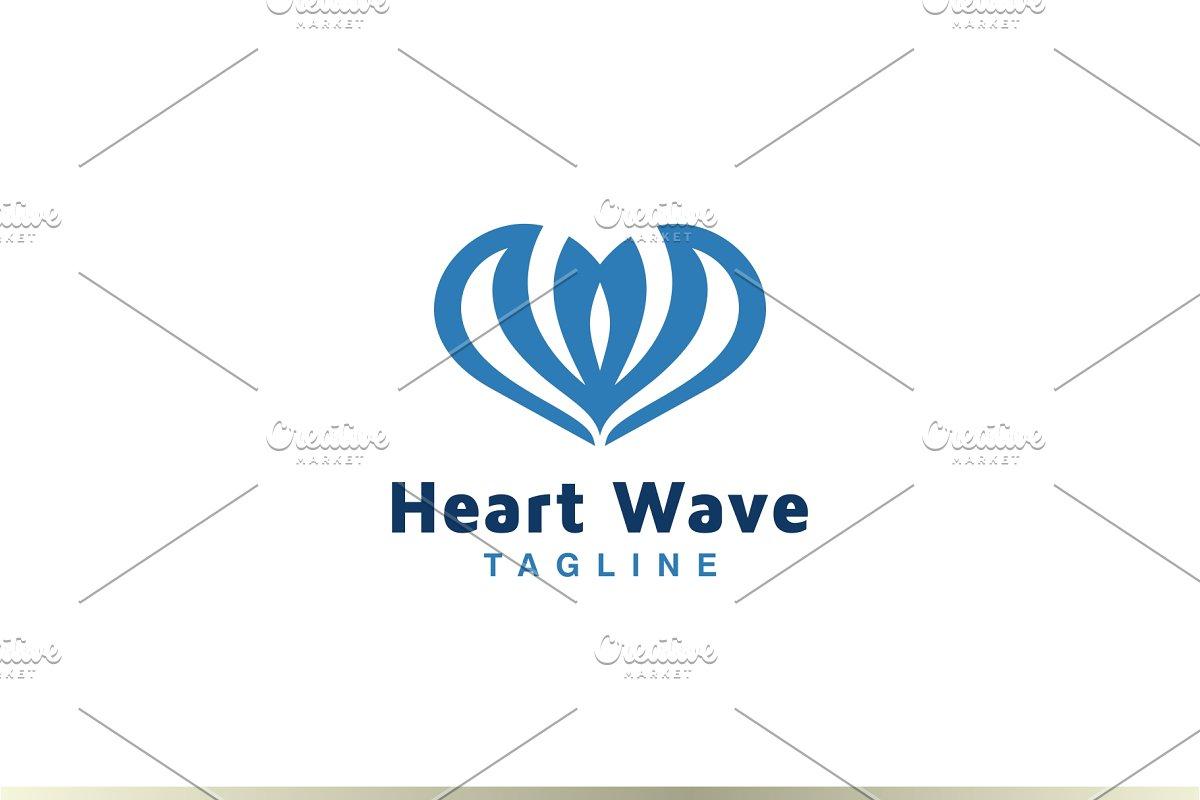 Heart Wave Logo