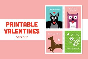 Printable Valentines – Set Four