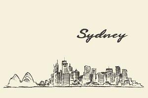 Sydney skyline (Australia)