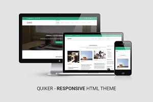 Quiker | Responsive HTML5 Template
