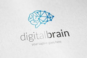 digital brain v2 logo
