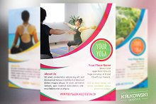 Your Yoga Flyer Template
