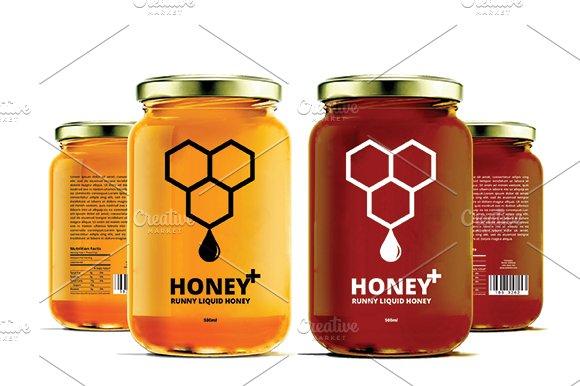 Honey Labels V2 Templates Creative Market