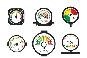 Manometer set