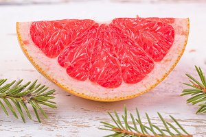 Grapefruit segment