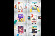Infographic Business Brochures Banne