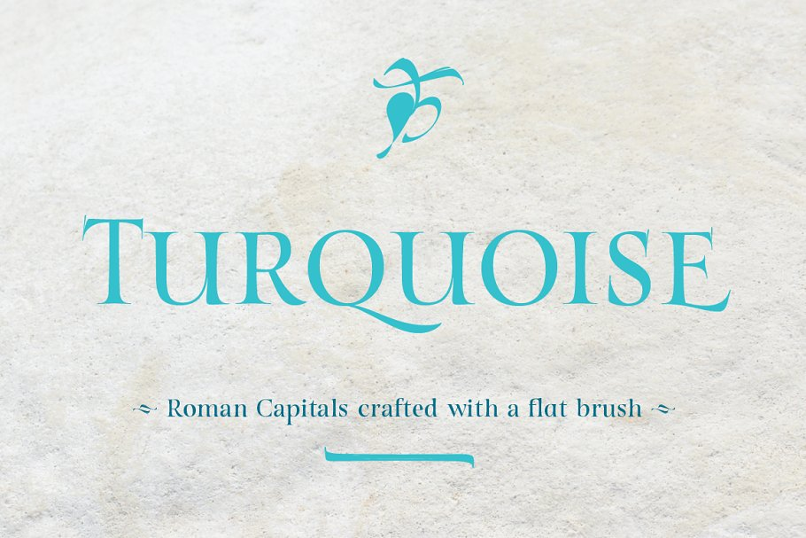 Turquoise ~ Serif Fonts ~ Creative Market