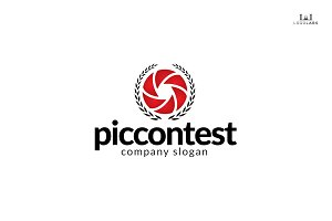 Pic Contest - Photography Logo