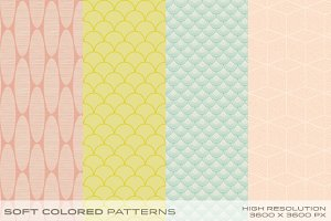 Soft Colored Patterns vol.1