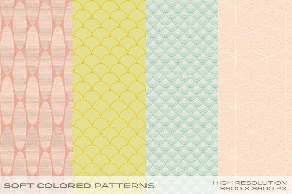 Soft Colored Patterns vol.1 - Patterns