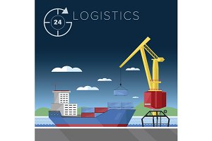 Warehousing and logistics processes.