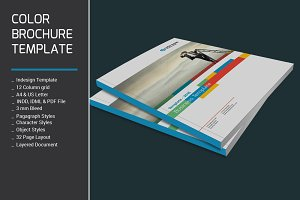 Color Brochure Template
