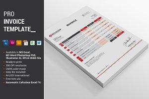 Pro Invoice Template