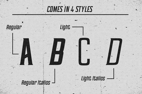 Barleycorn Typeface in Serif Fonts - product preview 1
