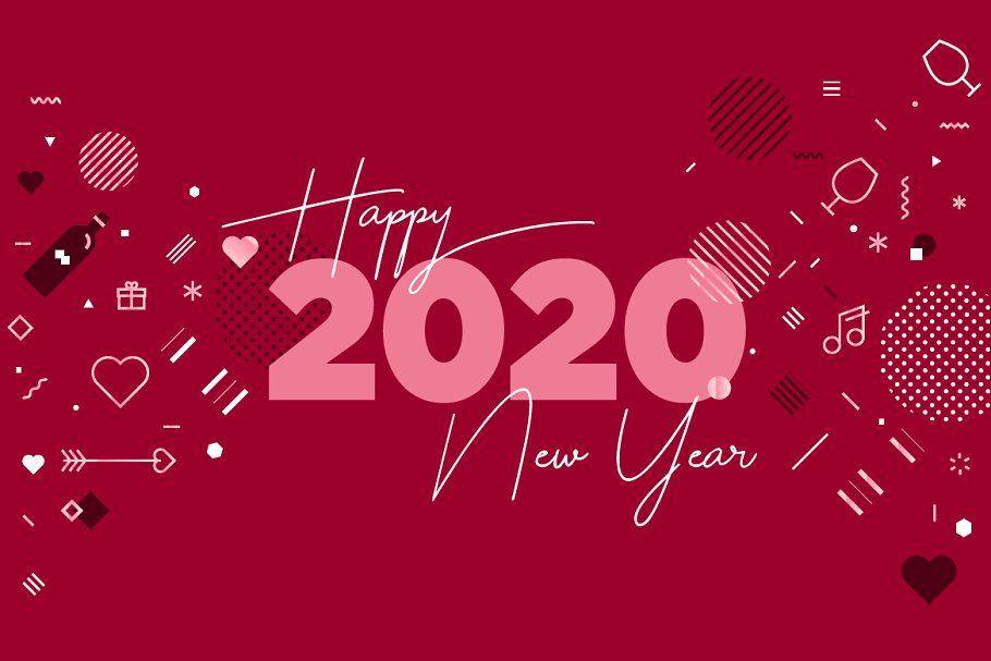 Happy New Year 2020 And Lots Of Love