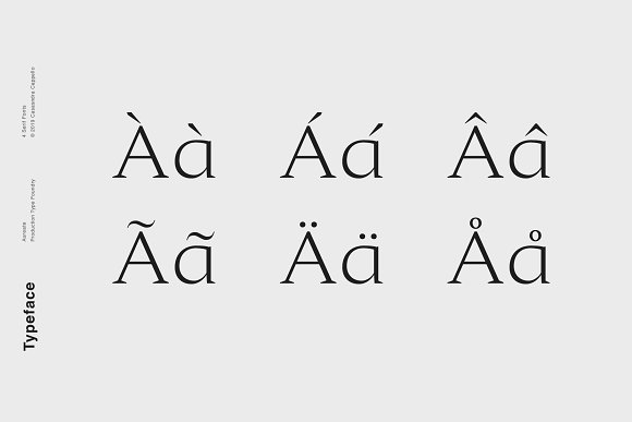 Aureate - A Sophisticated Serif in Serif Fonts - product preview 3