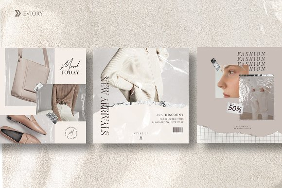 PS & CANVA Rein - Social Media Pack in Instagram Templates - product preview 4