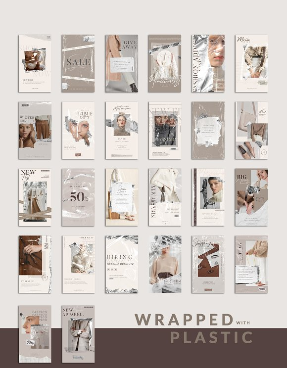 PS & CANVA Rein - Social Media Pack in Instagram Templates - product preview 11