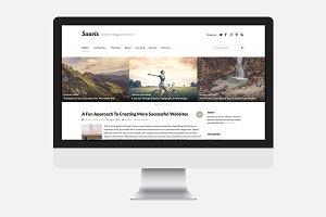 Suavis - WordPress Theme