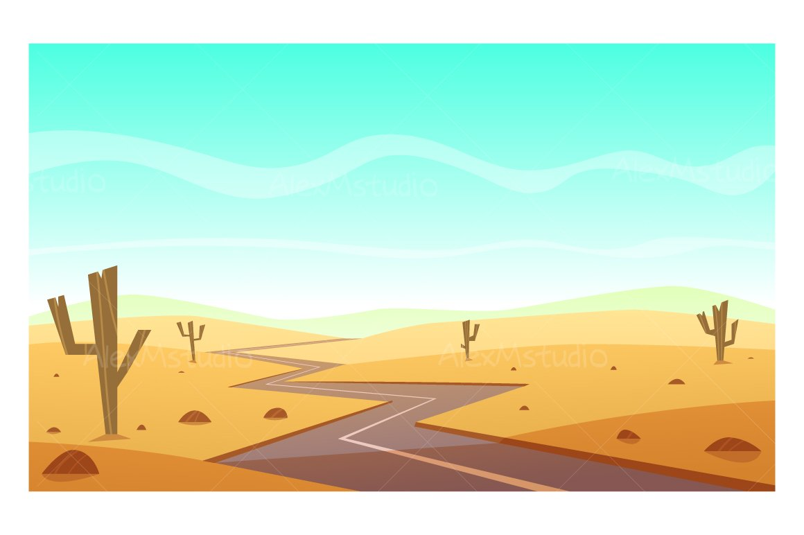 cartoon desert Images, Stock Photos & Vectors | Shutterstock