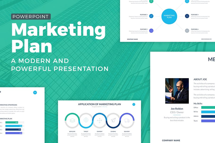 Marketing Plan Powerpoint Template ~ PowerPoint Templates