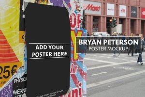 Bryan Peterson Poster Mockup