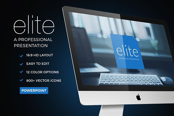 50 stunning presentation templates you wont believe are powerpoint elite powerpoint template toneelgroepblik