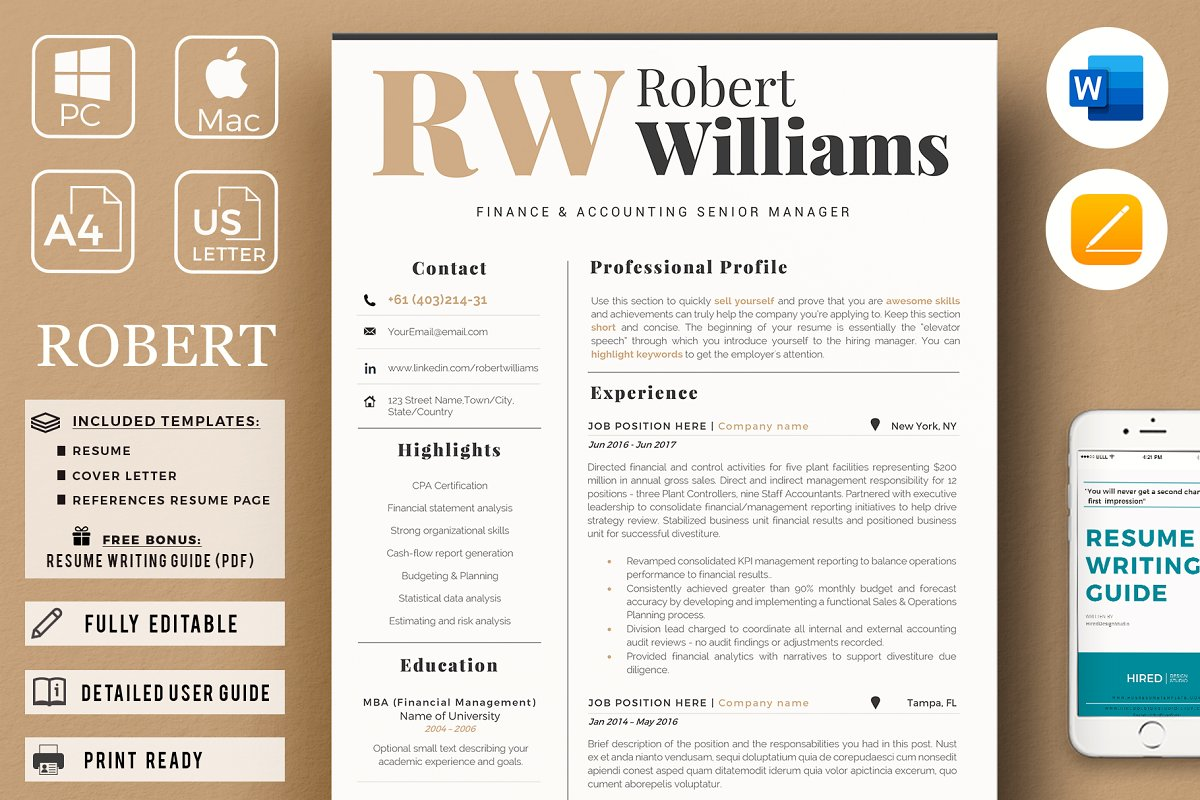 Accountant Sales Resume Cover Letter ~ Resume Templates ...