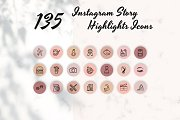 135 Instagram Story Highlight Icons