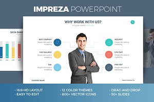 Impreza Powerpoint Template