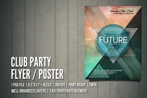 Club Party Flyer / Poster