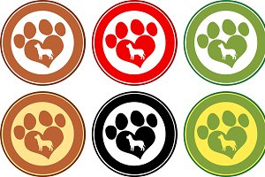 Paw Print Banners Collection- 1