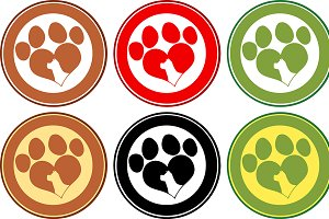 Paw Print Banners Collection- 2