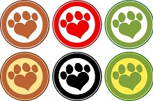 Paw Print Banners Collection- 3