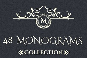 48  ornaments logos & monograms