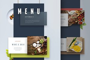Menu and Presentation UI