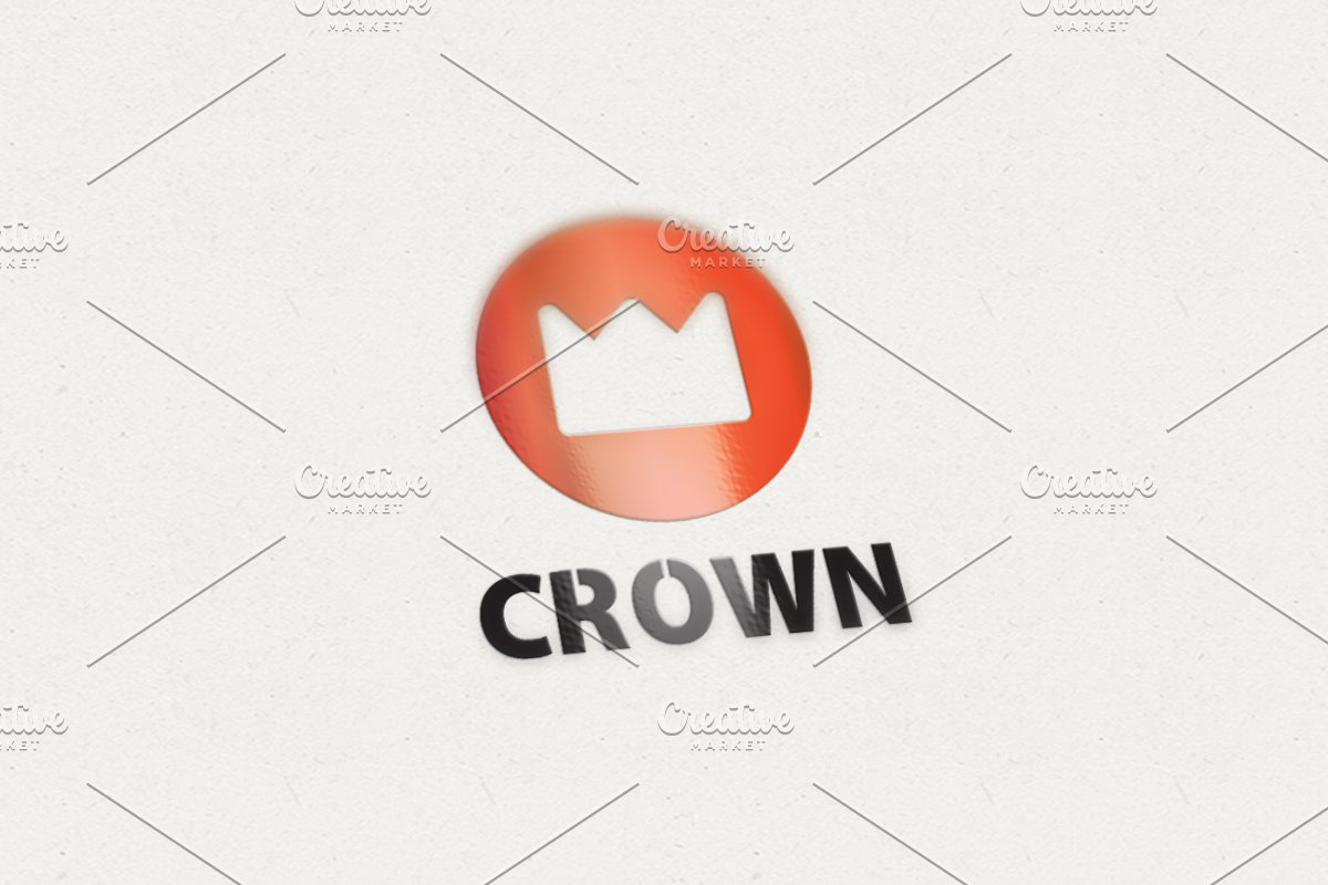 3fc2dd3e843 Crown ~ Logo Templates ~ Creative Market