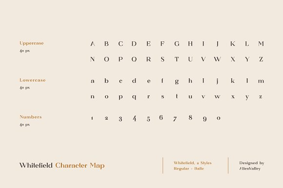 Whitefield - Handcrafted Serif in Serif Fonts - product preview 3