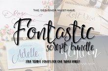 The Script Font Bundle - 60% OFF