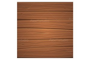 Cartoon wooden surface