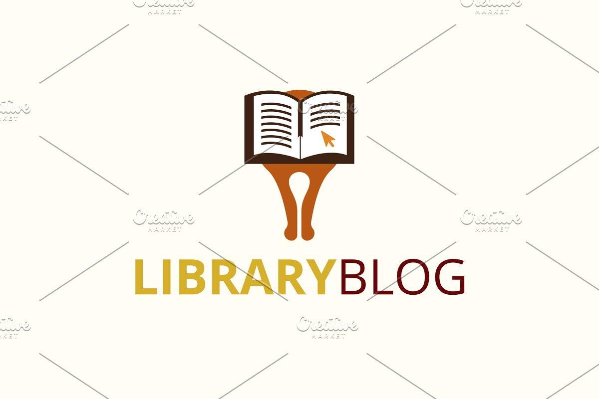 Library Blog Logo