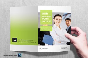 Corporate Bifold Brochure Vol 11