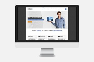 Exquiso – HTML Template
