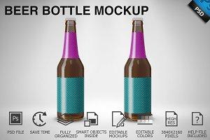 Beer Bottle Mockup 02