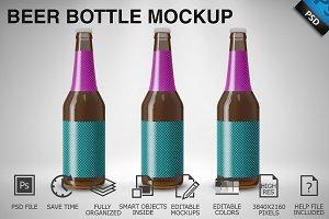 Beer Bottle Mockup 03