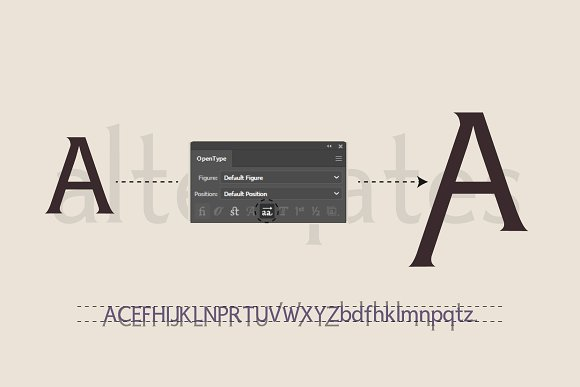 Victoria Avenue & Extras in Serif Fonts - product preview 3